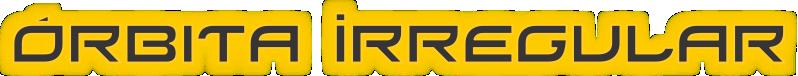 Órbita Irregular logo texto